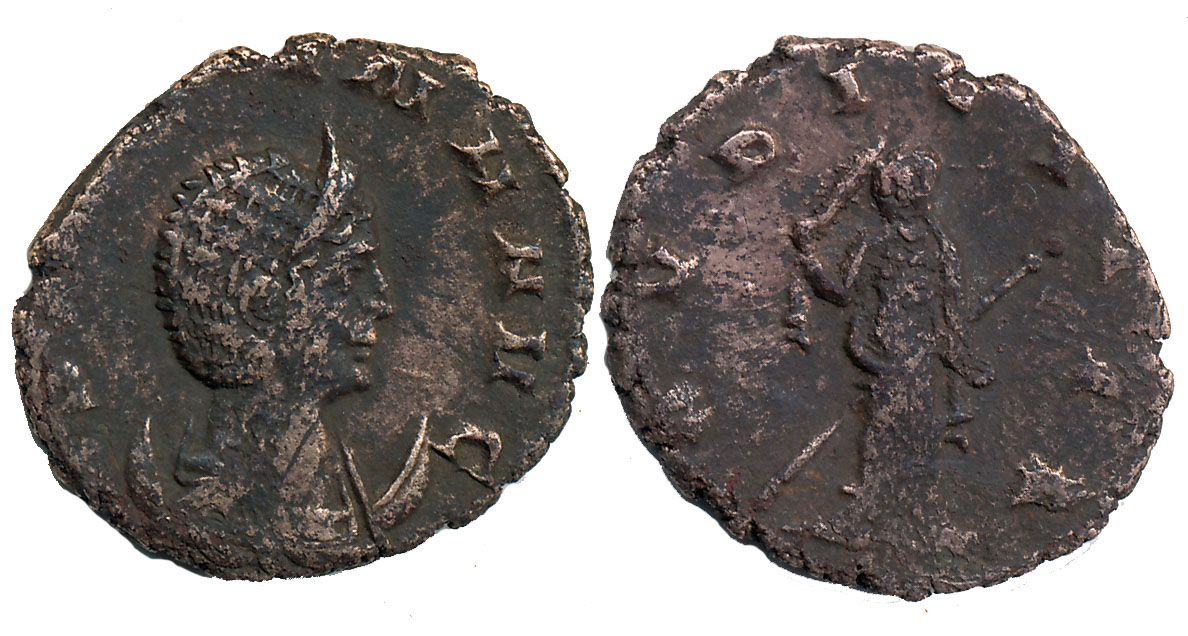 265 A.D Cornelia Salonina. NP Collectables