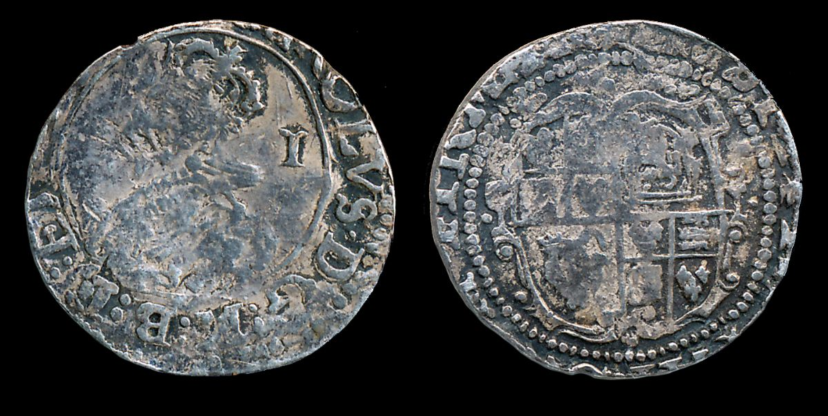Charles I Silver Penny. NP Collectables