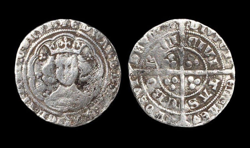 Edward III Pre Treaty Groat. NP Collectables