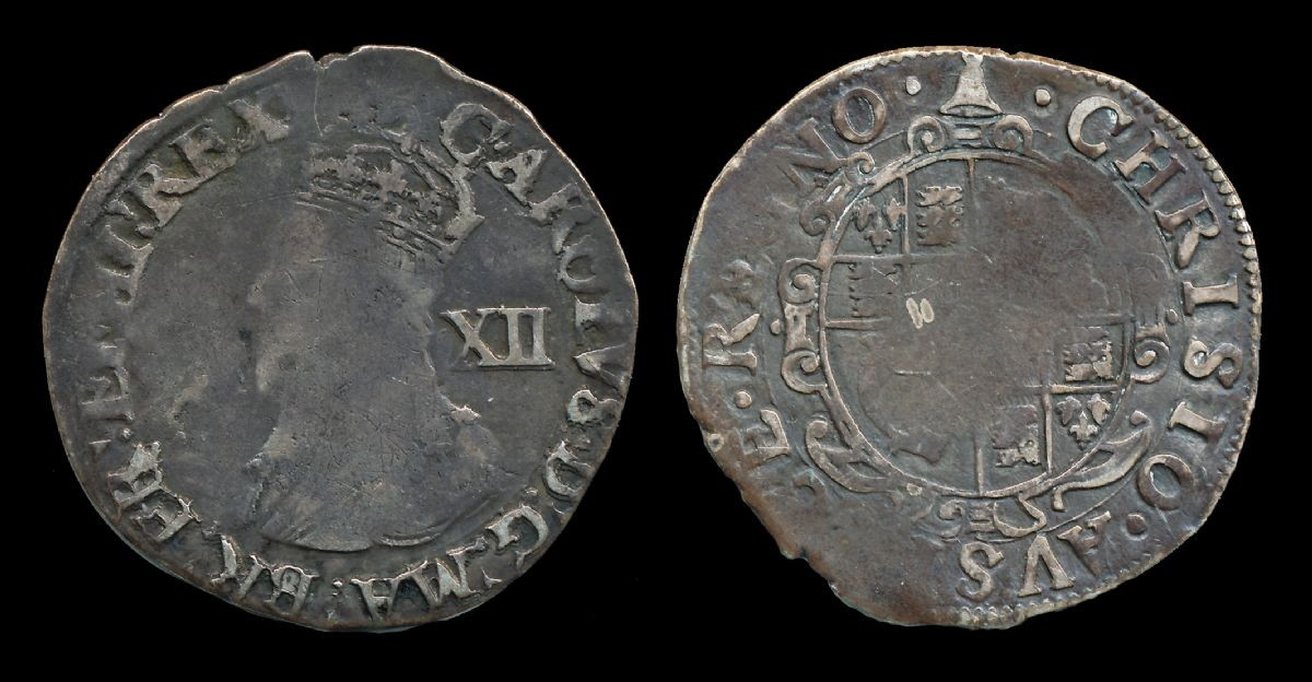 Charles I Shilling. NP Collectables