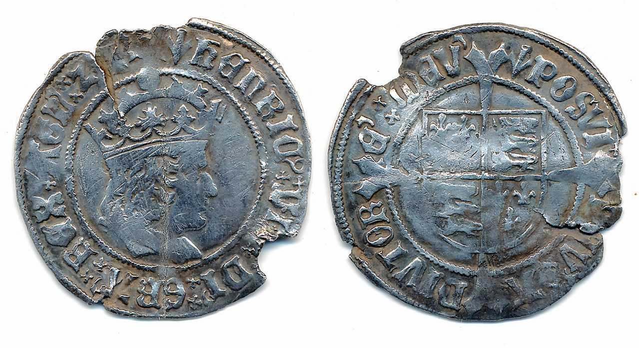 Henry VII Profile Issue, Groat.  NP Collectables