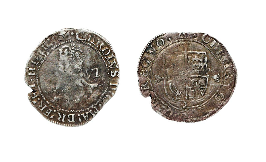 Charles I, Tower, Sixpence. NP Collectables