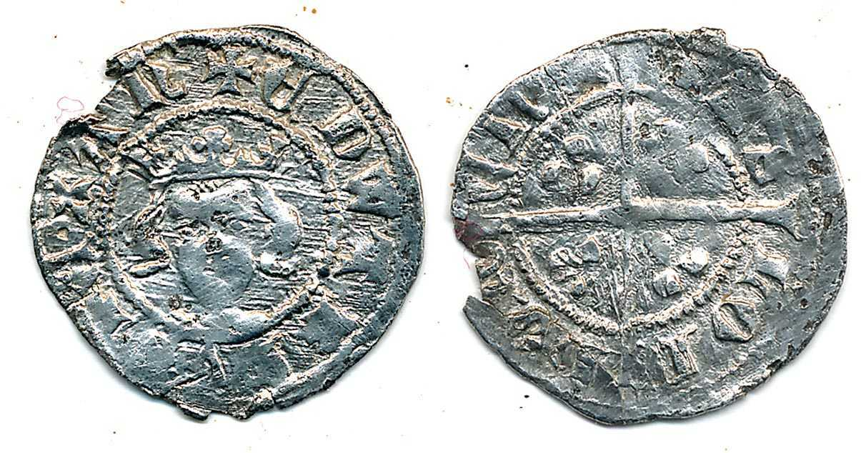 Edward III Halfpenny.  NP Collectables